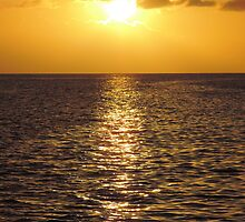 Sunset in St Lucia 1 by Tizz07