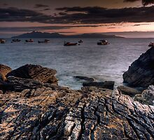 Elgol- Fishing fleet by Guy  Berresford