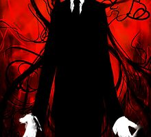 Slenderman by sandpaperdaisy