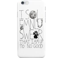 I Solemnly Swear... iPhone Case/Skin