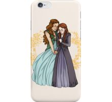 The Wolf and the Rose iPhone Case/Skin