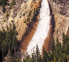 Nevada Fall - Yosemite National Park - California USA by TonyCrehan