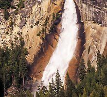 Nevada Fall - Yosemite National Park - California USA by TonyCrehan