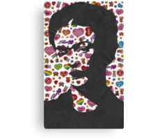 Frida Kahlo Stickers Prints  Canvas Print