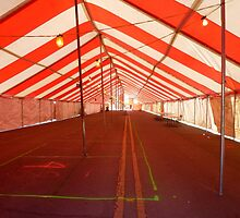 Inside The Tent On Main Street by WildestArt