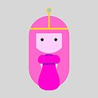 Princess Bubblegum by quirkykido
