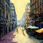 L'escargot on Rue Montorgueil,  Paris,  France  by marshstudio