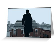 Reichenbach Fall Greeting Card
