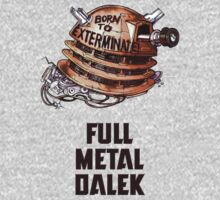 Full Metal Dalek | Doctor Who | w/ Title by rydrew
