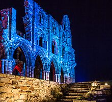 English Heritage : Whitby Abbey Illuminations II by SighMulgrave