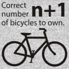 Correct Number of Bicycles to Own (lite) by KraPOW