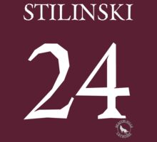 Teen Wolf - STILES STILINSKI LACROSSE #24 - Shirt/Sticker Design by sarahk142
