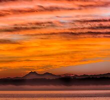 Thanksgiving Day Sunset by Jim Stiles