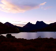 Dawn Reflections at Dove Lake, Cradle Mountain by Renee Hubbard Fine Art Photography
