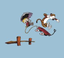 Calvin & Hobbes - Into the pond by EasilyConfused1