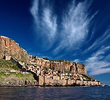 The medieval castletown of Monemvasia by Hercules Milas