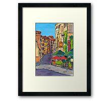 Près de l'arène Romaine, Arles Framed Print