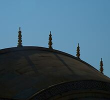 Roof of Summer Palace at Amber Fort by Nick Dale