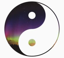 Northern Lights Yin & Yang by dare-ingdesign
