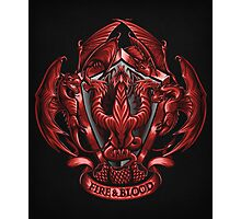Fire and Blood - Print Photographic Print
