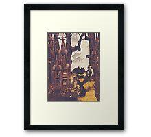 Dollhouse Forest Fantasy Framed Print