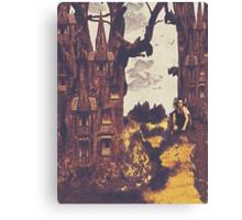 Dollhouse Forest Fantasy Canvas Print