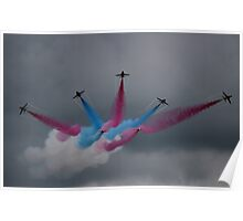 Red Arrows Grand Finale Poster