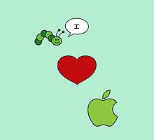 I love Apple by CapitanCrash