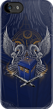 Timelord and Proud - Iphone Case by TrulyEpic