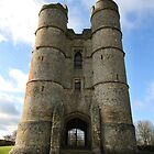 Donnington Castle by Samantha Higgs