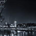 London at Night by Ian Hufton