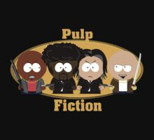 Pulp Fiction South Park by rbrayzer
