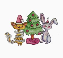 Kitty and Bunny and the Christmas Tree by Heather Meade