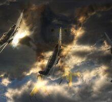 The Hunters by Nigel Bangert
