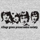 British Invasion - Village Green Preservation Society by kassette