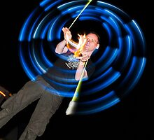 Poi spinning -Alchemy Fest 2011 by Guy  Berresford