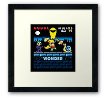 Boy Wonder Boy Framed Print