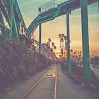 Beach/Bridge Cityscape by mitchlx