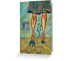 You Got Great Legs My Scottish Lad Greeting Card