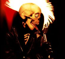 PUNK SKULL ROCKER by Matterotica