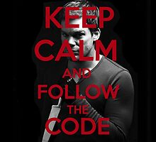 Keep Calm and Follow The Code by Crystal Friedman
