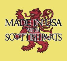 Made in USA with Scottish parts Kids Clothes