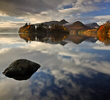 Derwentwater in Autumn by John Ormerod