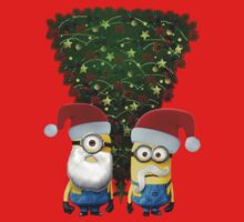 Minion Christmas Tree by Faster117