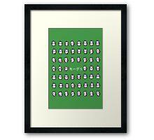 Moogle Framed Print