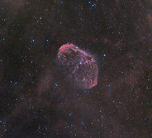 NGC 6888 - Crescent Nebula by Jeff Johnson