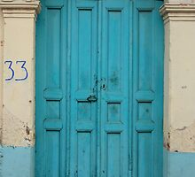 Blue Door Mexico by alchea