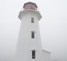 The Lighthouse At Peggy's Cove by Gary Chapple