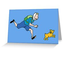 The Adventures of FinnFinn Greeting Card