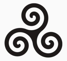 Triskelion (Derek's tattoo) by Ashleigh Myers